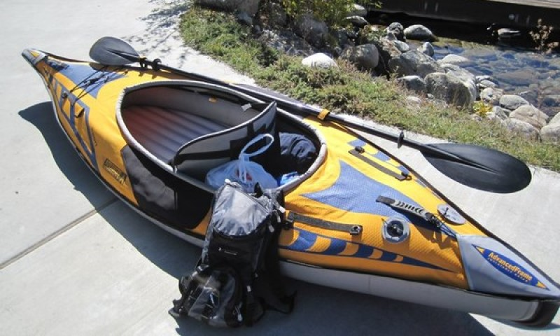 Inflatable Kayak Advanced Frame Sport