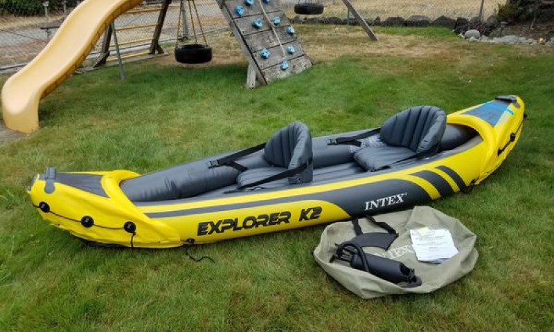 Inflatable kayak Intex Explorer K2, for 2-Person