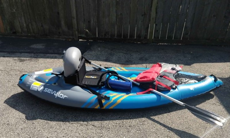 Inflatable Kayak Sevylor K1 QuikPak